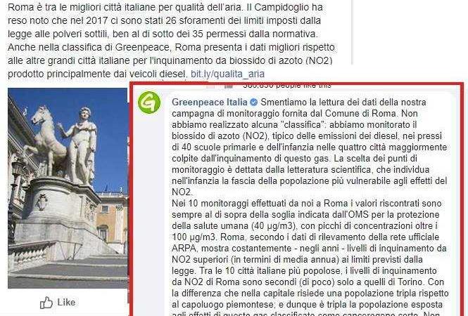 greenpeace roma capitale