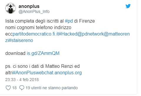 hacker firenze pd