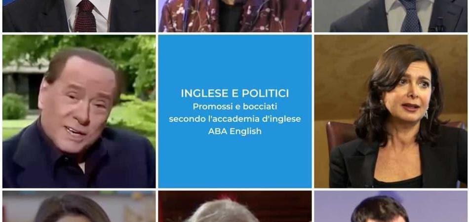 inglese politici