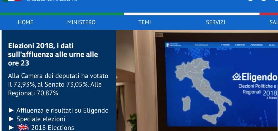 mappa del voto