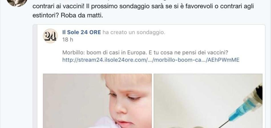 Roberto Burioni Sole 24 Ore