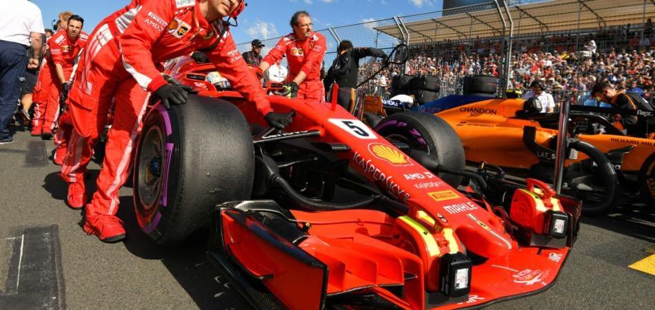 Sebastian Vettel vince Gp Australia