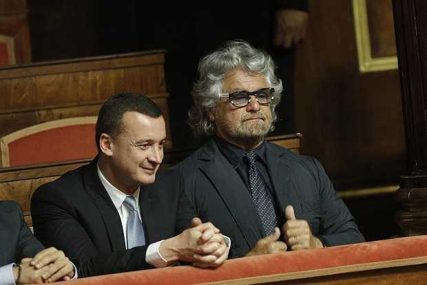Beppe Grillo intervista