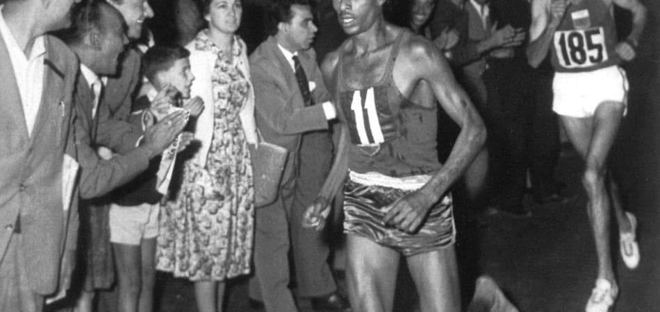 Abebe Bikila Roma Appia Run