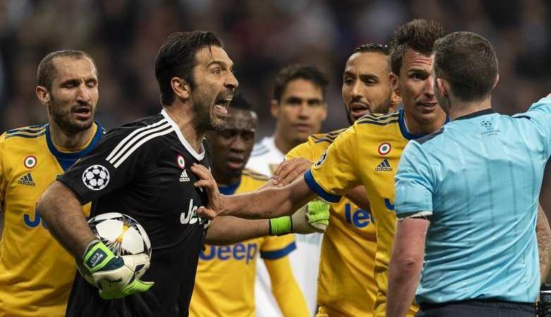 rissa Real Madrid-Juventus