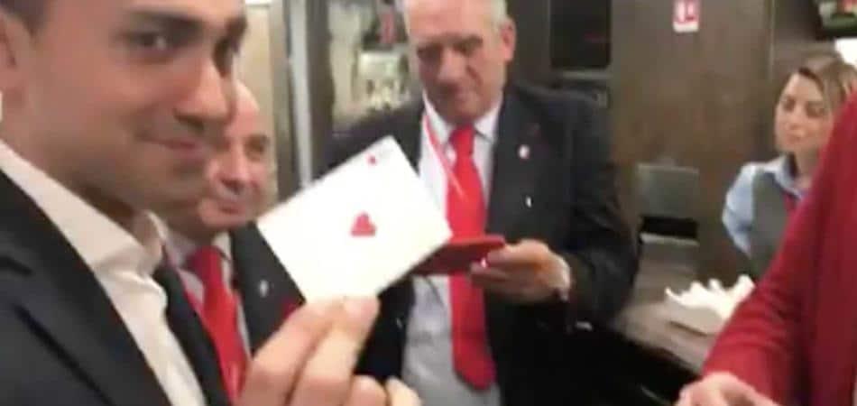Luigi Di Maio illusionista