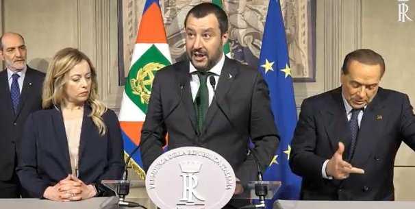 Silvio Berlusconi ventriloquo