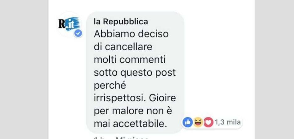auguri morte Napolitano