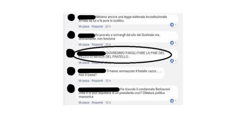 Enrico Mentana haters Mattarella