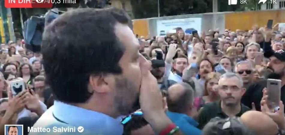 Matteo Salvini Terni