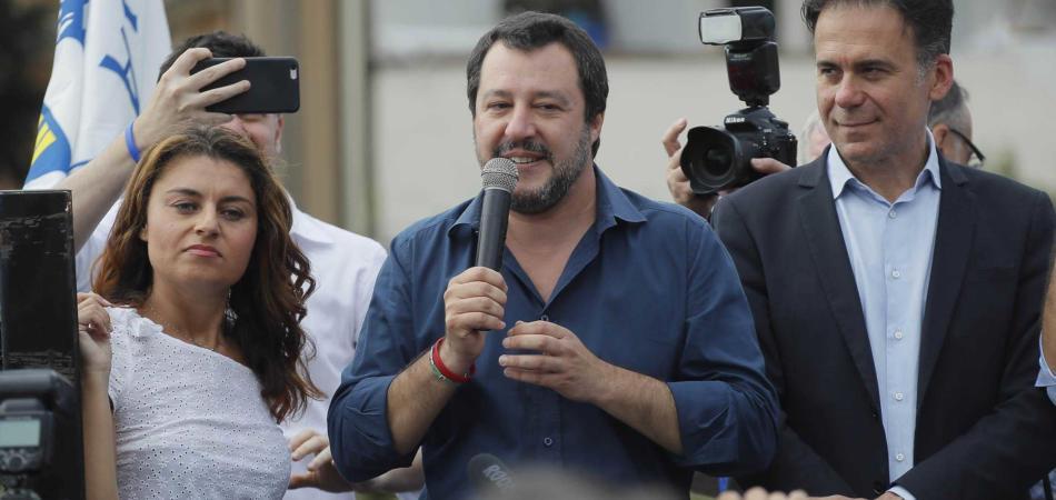 Matteo Salvini sacrosante ferie