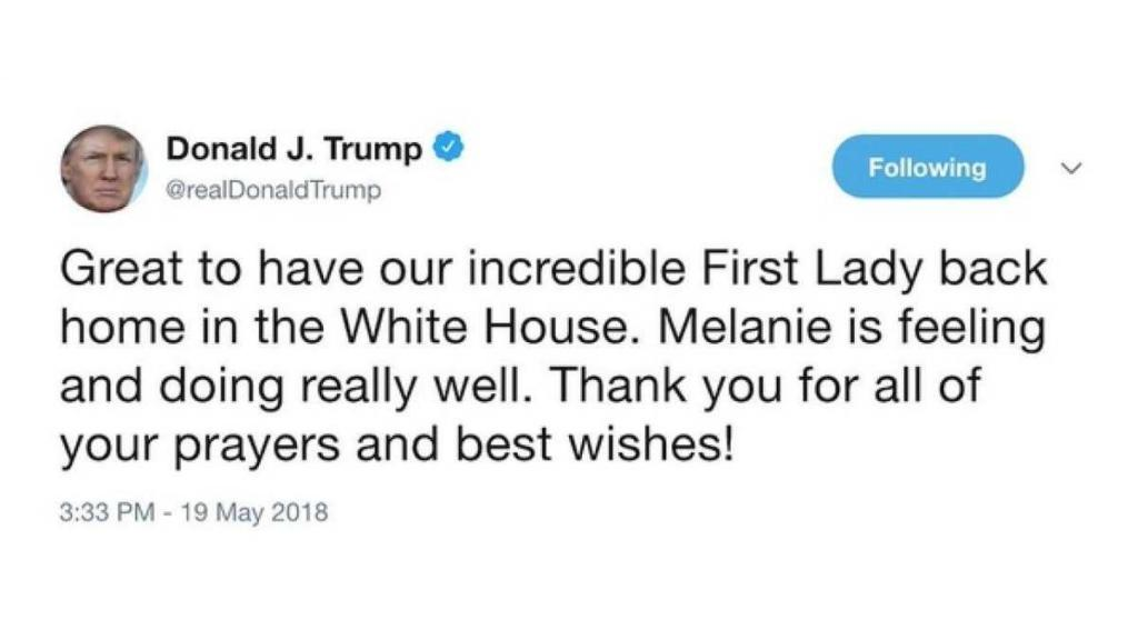 Trump Melanie