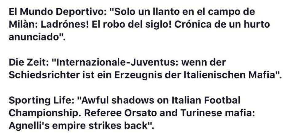 Inter-Juventus bufala
