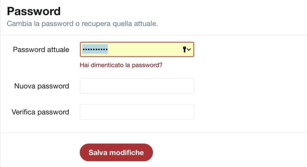 password Twitter
