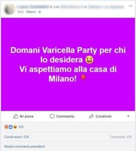 varicella party