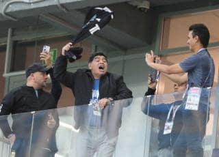 Maradona contro Sampaoli