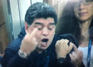 Maradona dito medio