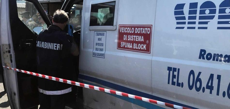 assalto furgone portavalori