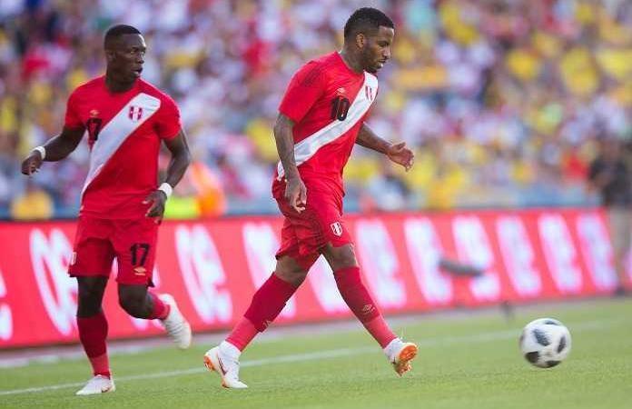 rosa perù mondiali 2018