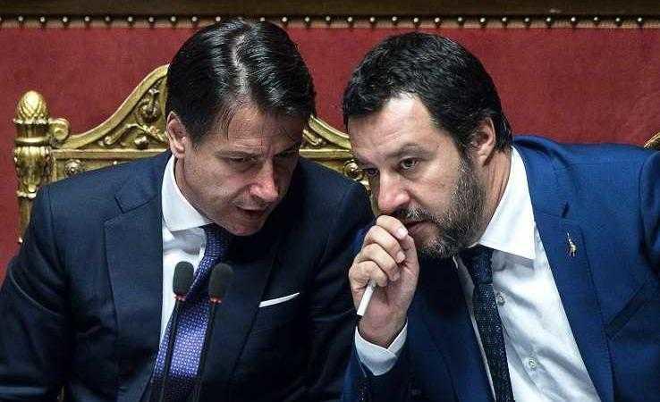 telefonata Conte Salvini