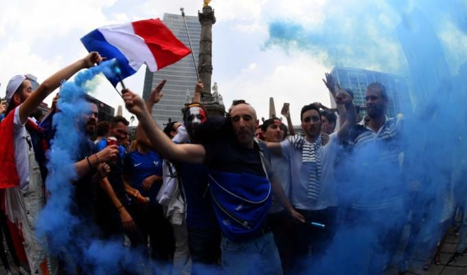 Francia Mondiale, festeggiamenti