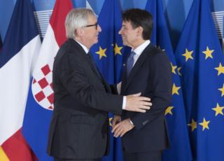 Juncker a Conte, la risposta