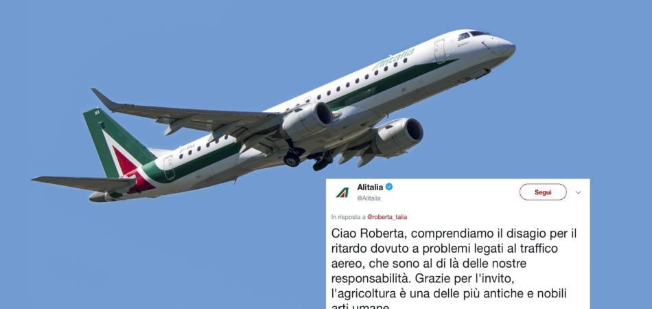 risposta Alitalia