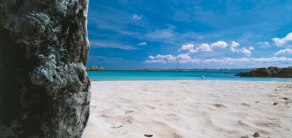Furto sabbia Sardegna, Spiaggia rosa Budelli