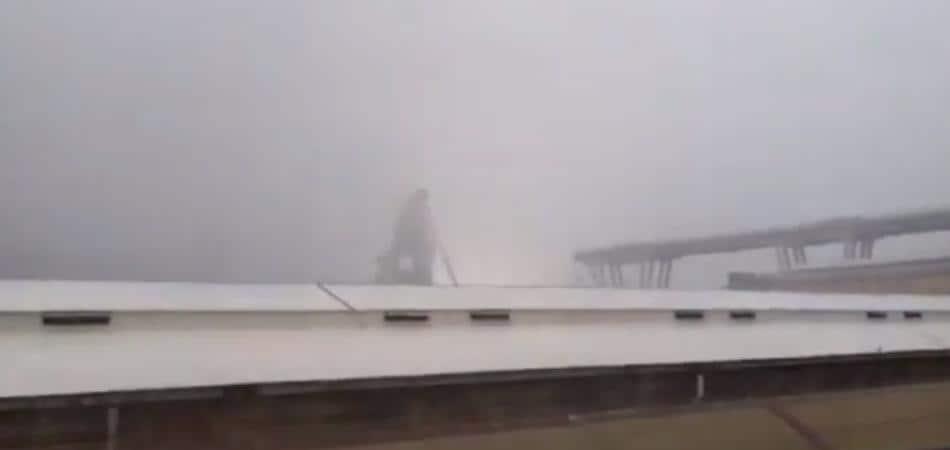 Ponte Morandi fulmine