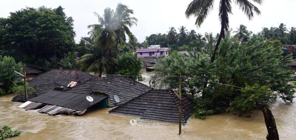 kerala inondazione