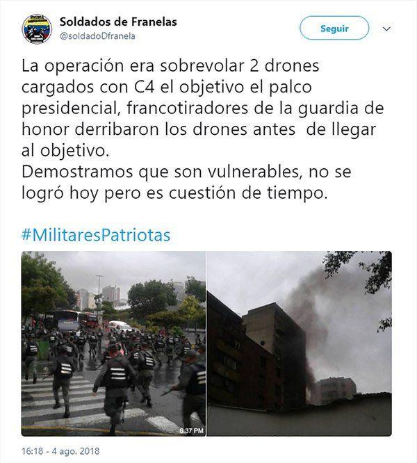 attentato Maduro