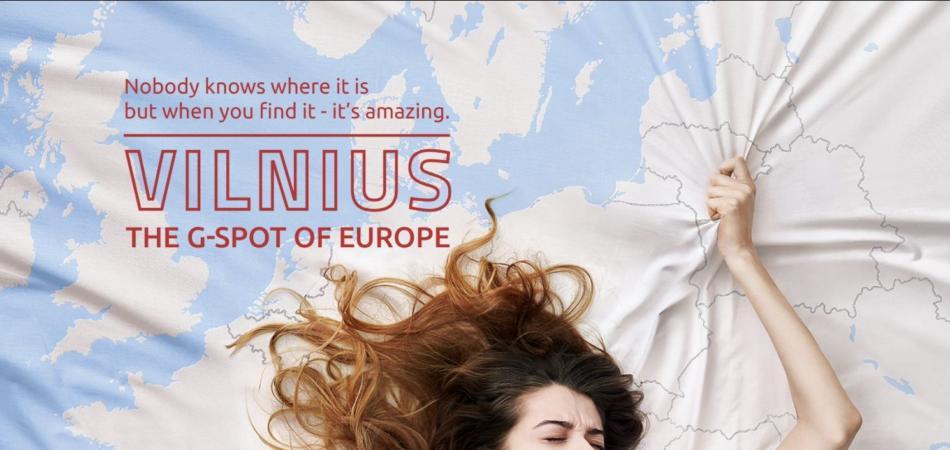 Vilnius punto G dell'Europa