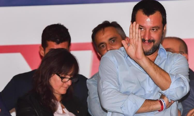 Salvini Manovra come Milan
