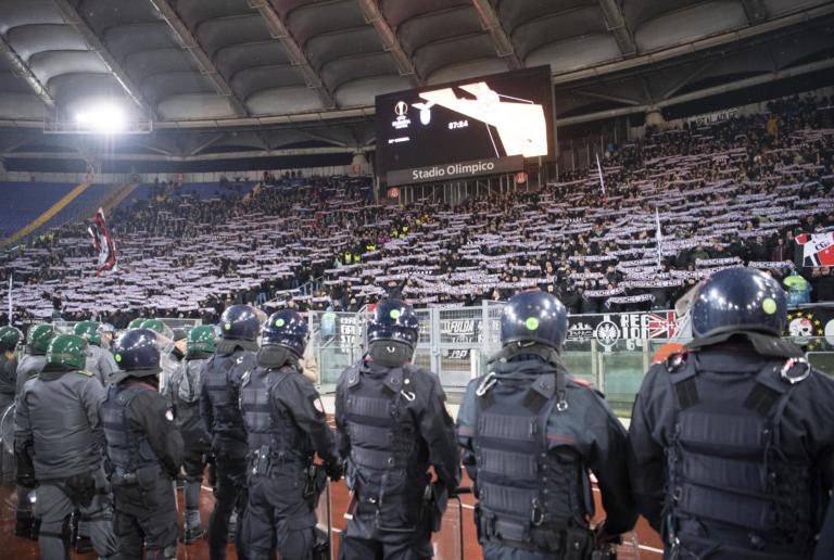 Tensioni prima di Lazio-Eintracht: la società biancoceleste ha venduto più biglietti del solito ai tedeschi