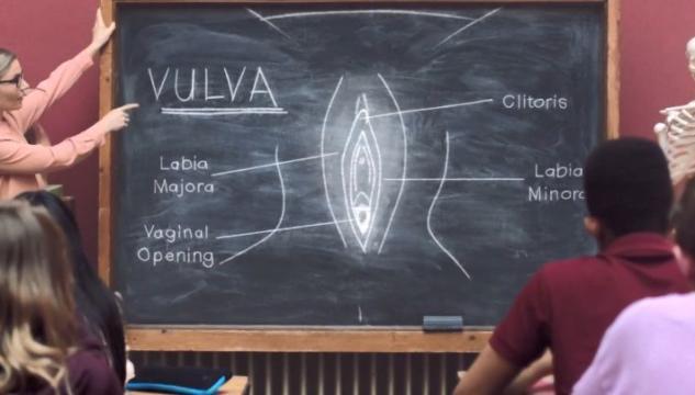 diffondere le immagini della vagina