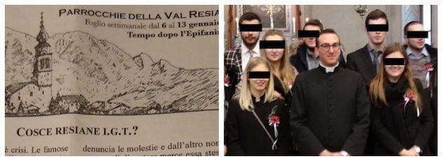 new concept 5c050 fd738 Il parroco di Resia contro le minigonne: «Carne al vento, la ...