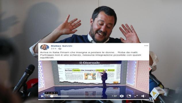 Salvini bufala Imam Milano 1)