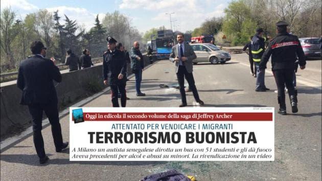 San donato milanese il giornale titola terrorismo buonista for Arredamenti ballabio san donato milanese