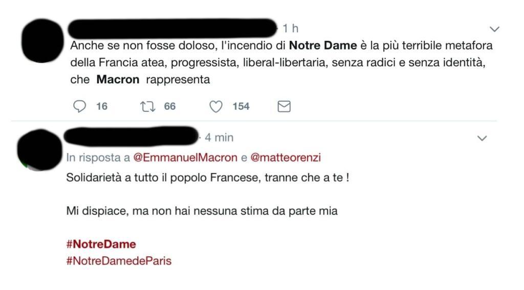 Insulti Macron