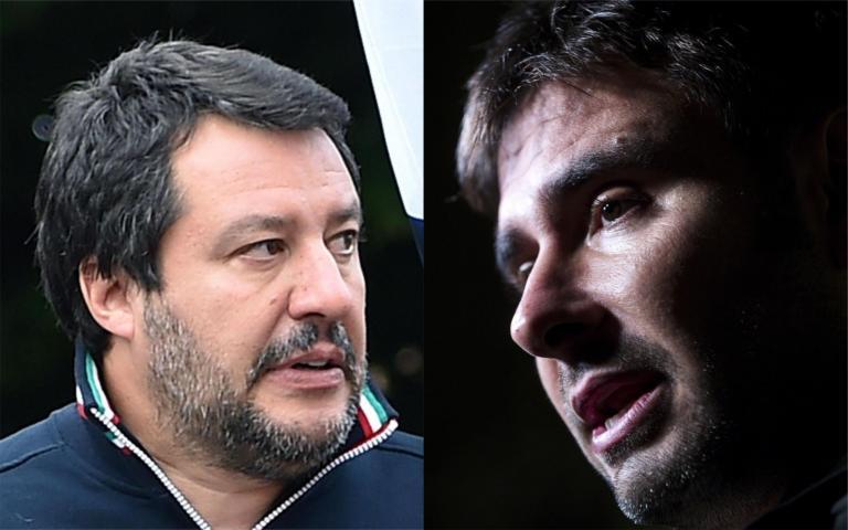 Di Battista torna all'attacco: «Salvini fa marketing con lo stipendio pagato anche da me»