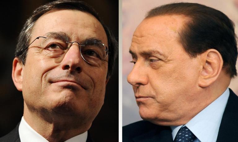Berlusconi rilancia l'idea di Mario Draghi premier: «È lui l'uomo giusto per l'Italia»