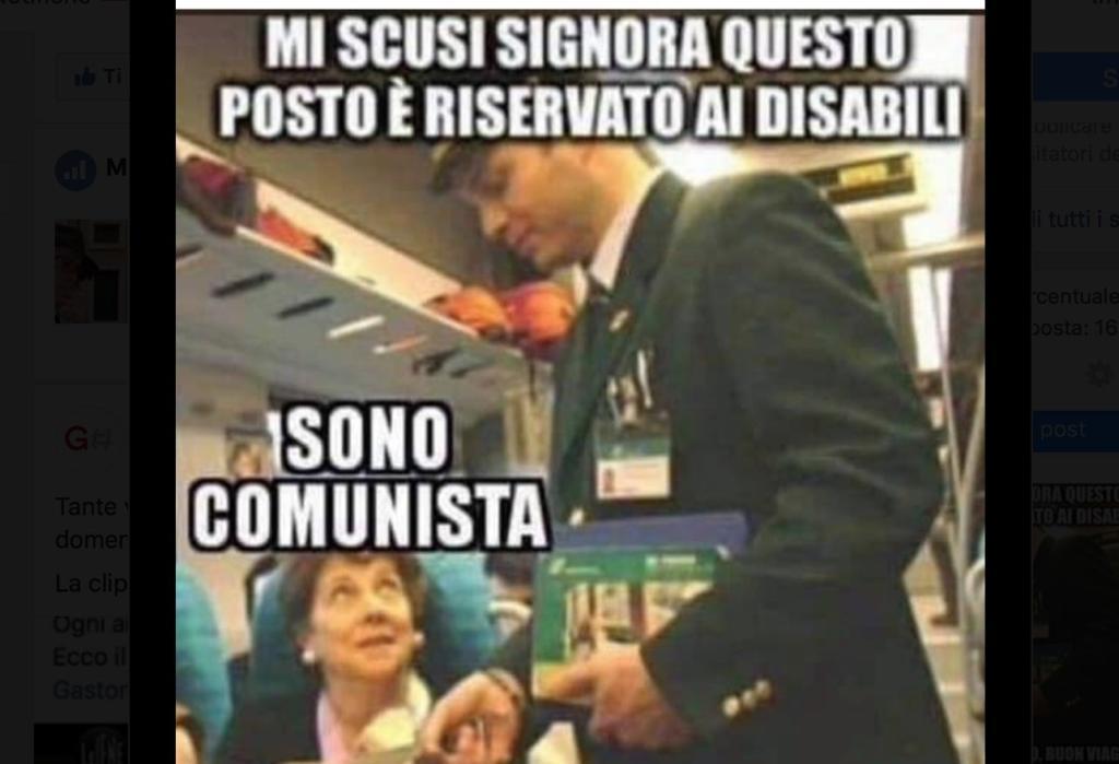 post disabili e comunisti