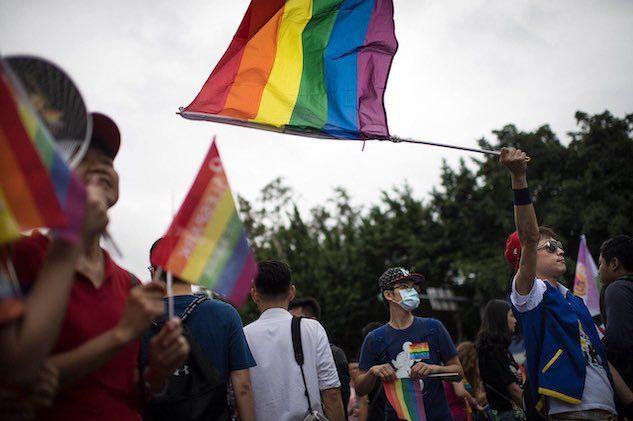Taiwan è il primo paese in Asia a legalizzare il matrimonio tra persone dello stesso sesso