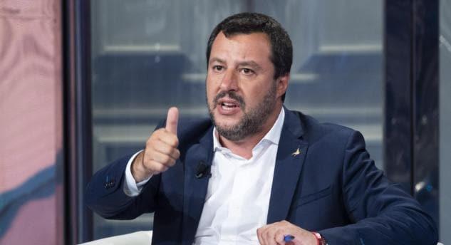 Salvini a 'Porta a Porta' fa il tifo per l'ingresso di Atlantia in Alitalia
