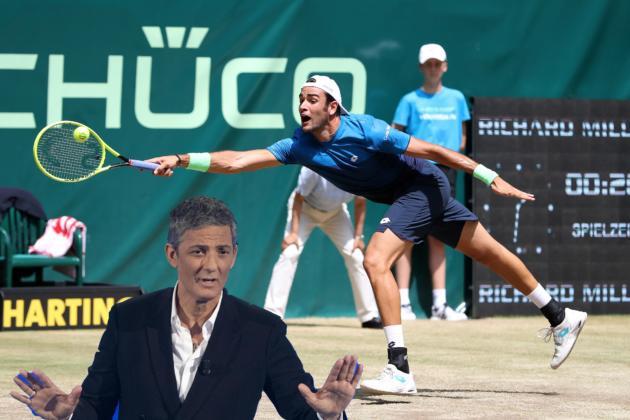 Fiorello sulla sconfitta di Berrettini contro Federer: «Come al mio primo Sanremo»