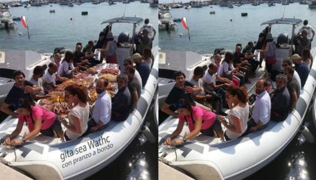Partito di incontri originale barca