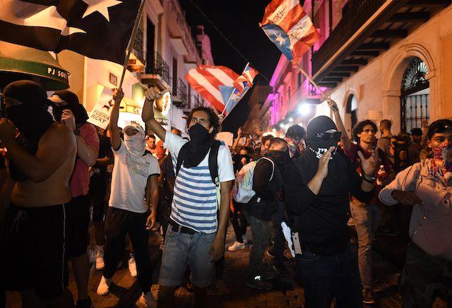 Le proteste di Puerto Rico contro il governatore Ricardo Roselló