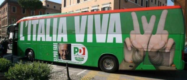 Italia Viva è stato anche uno degli slogan della campagna elettorale di Veltroni nel 2008