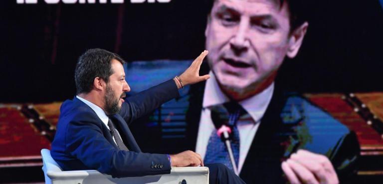 La Lega ha chiesto la sospensione dei lavori dopo la scissione di Renzi: «Conte riferisca in Aula»