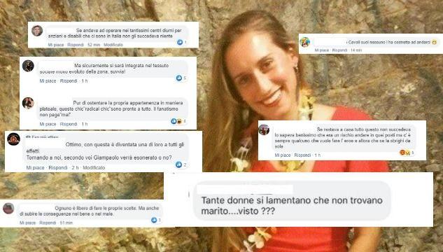 La vergogna social dopo le ultime notizie su Silvia Romano: «E ci sono donne che si lamentano di non trovare marito, visto?»